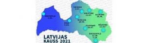 Latvijas kauss triatlonā 2021