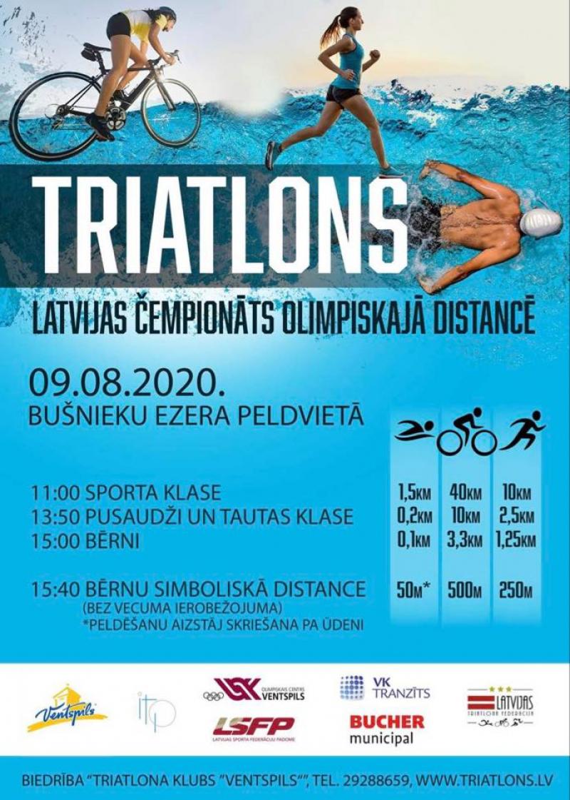 Latvijas Čempionāts Olimpiskajā distancē